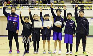 ◎優勝:富良野市立富良野小学校「富良野へそタグズB」