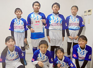 ◎準優勝:浦安ウイングス ブルー