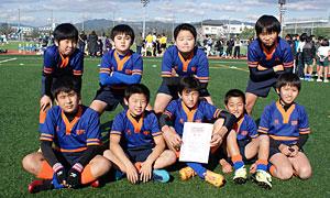 ◎優勝:佐賀ジュニアラグビークラブ・ブルー