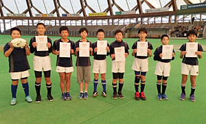 ◎優勝:松江ラグビースクール